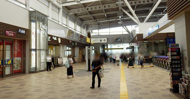 emio(エミオ)」所沢駅の外の様子