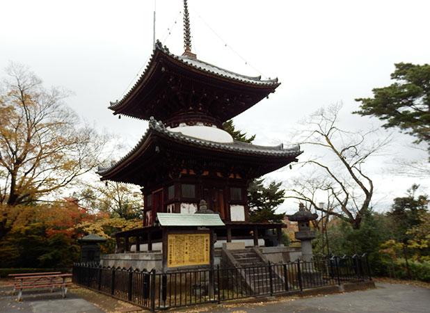 第一多宝塔(埼玉県有形文化財)