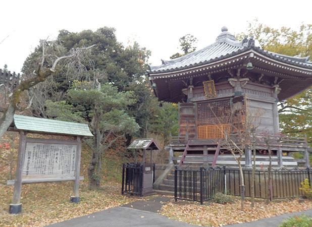 弁天堂(旧清涼寺経蔵)