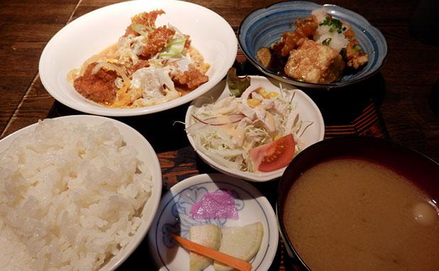 日替わり定食(750円)