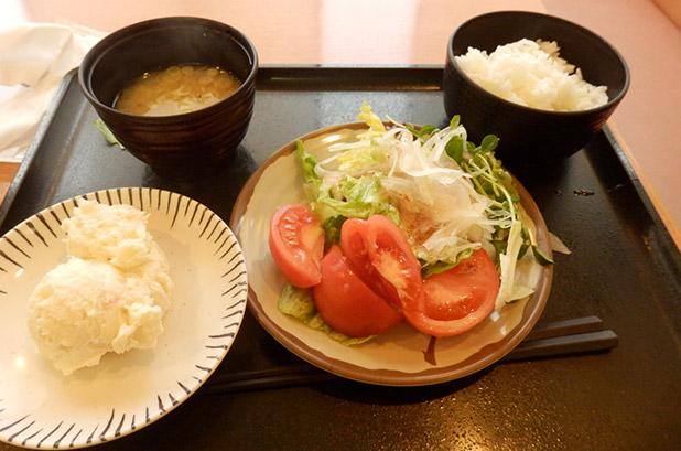 サラダ定食