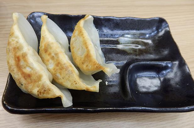 餃子3個(100円)